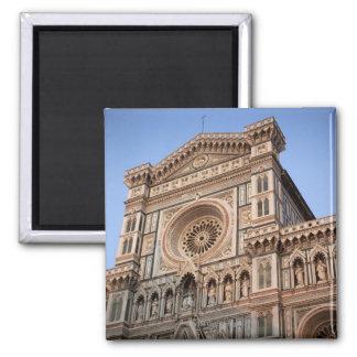 El Duomo, Florencia, Italia 2 Imán Cuadrado