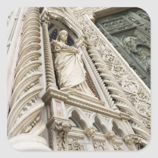 El Duomo Santa María Del Fiore Florencia Italia 2 Pegatina Cuadrada
