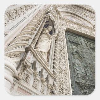 El Duomo Santa María Del Fiore Florencia Italia Pegatina Cuadrada