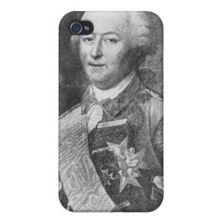 El duque de Aiguillon iPhone 4 Carcasa