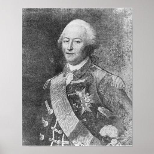 El duque de Aiguillon Posters