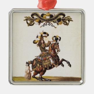 El duque de Enghien como el rey de los indios Ornamentos Para Reyes Magos