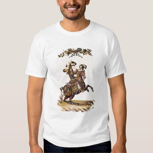 El duque de Enghien como el rey de los indios Polera