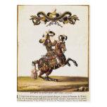 El duque de Enghien como el rey de los indios Tarjeta Postal