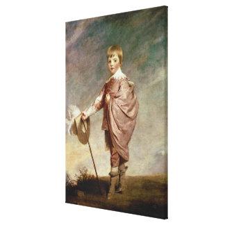 El duque de Gloucester como muchacho Impresiones En Lona Estiradas