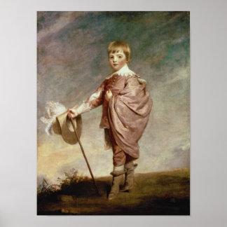 El duque de Gloucester como muchacho Póster