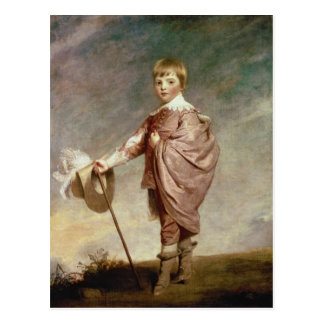 El duque de Gloucester como muchacho Postal