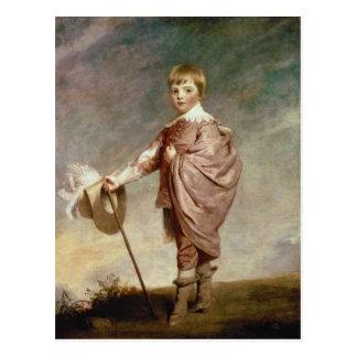 El duque de Gloucester como muchacho Tarjeta Postal