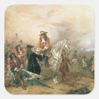 El duque de Marlborough (1650-1722) que firma el Pegatina Cuadrada