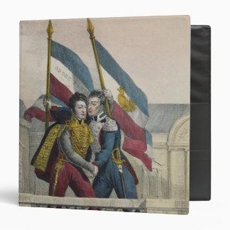 """El duque de Orleans Carpeta 1 1/2"""""""