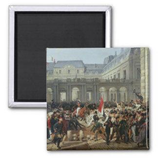 El duque de Orleans sale del Palais Royal Imán Cuadrado