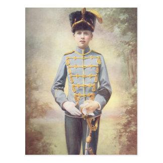 El duque de Saxe-Coburgo y de Gotha Postal