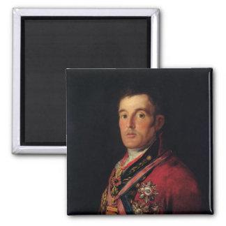 El duque de Wellington 1812-14 Imán Cuadrado