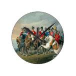 El duque de Wellington y el su cruzar del personal Reloj Redondo Mediano