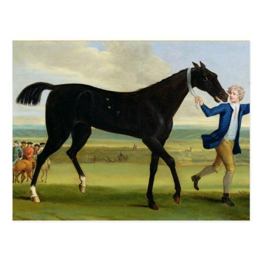"""El duque del negro """"hermoso"""" de Rutland, c.1720 (a Postal"""