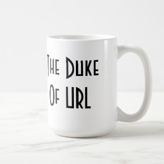 El duque del URL Taza Clásica