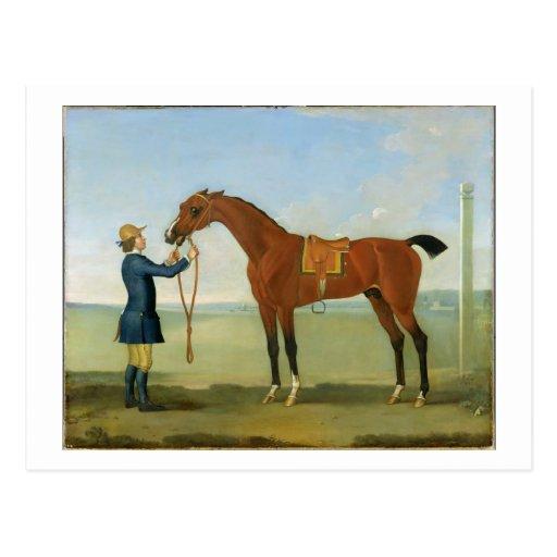 El duque del vuelo Childers, 1742 de Devonshire (o Tarjeta Postal