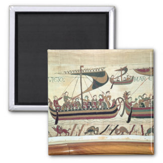 El duque Guillermo y su flota cruza el canal al PE Imán Cuadrado