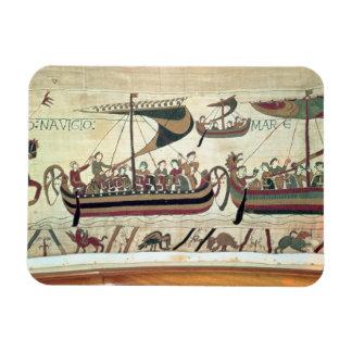 El duque Guillermo y su flota cruza el canal al PE Imán Rectangular