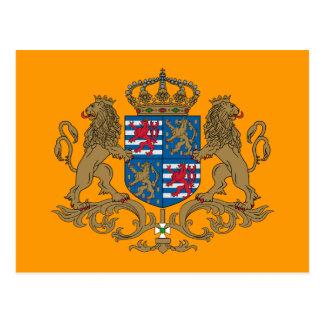 El duque magnífico de Luxemburgo, Luxemburgo señal Postales