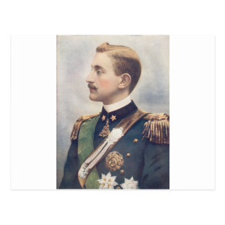 El duque Of Aosta Postal