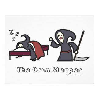 """El durmiente severo [valor """"poster"""", blancos] folleto 8.5"""" x 11"""""""