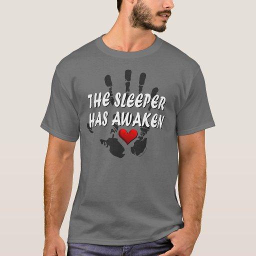 El durmiente tiene despertar #2a playera