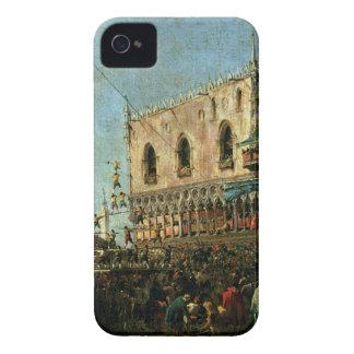 El dux en Shrove el festival de martes en el Pia Carcasa Para iPhone 4