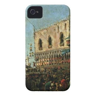 El dux en Shrove el festival de martes en el Pia Carcasa Para iPhone 4 De Case-Mate
