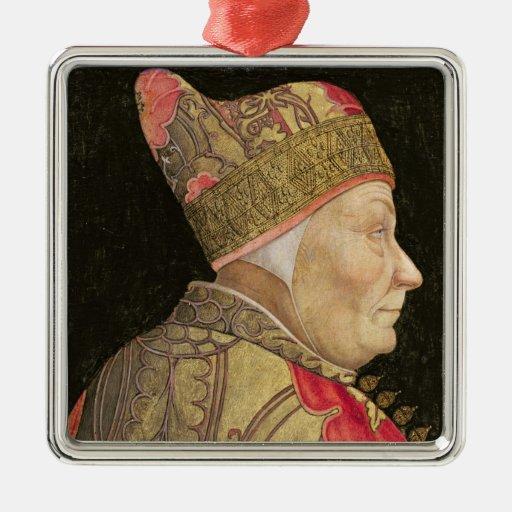 El dux Francisco Foscari, 1460 Ornamento Para Arbol De Navidad