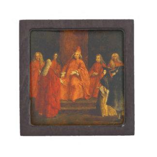 El dux Grimani en su trono Caja De Regalo De Calidad