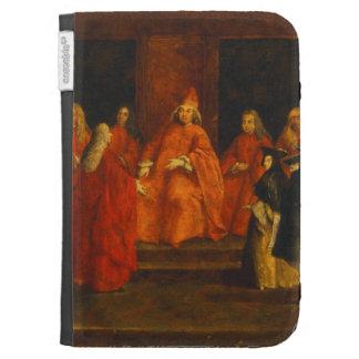 El dux Grimani en su trono
