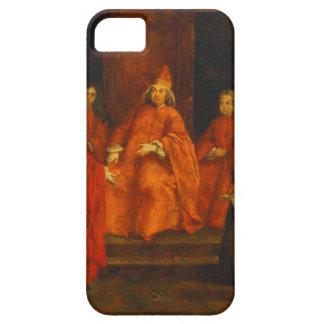 El dux Grimani en su trono iPhone 5 Case-Mate Coberturas