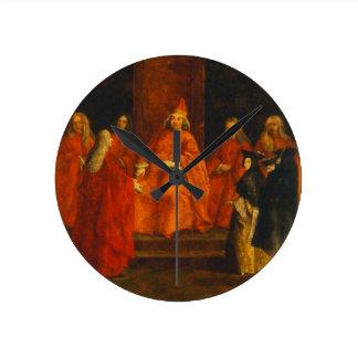 El dux Grimani en su trono Reloj