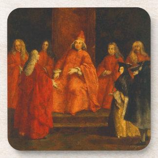 El dux Grimani en su trono Posavaso