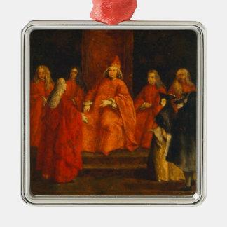 El dux Grimani en su trono Adornos