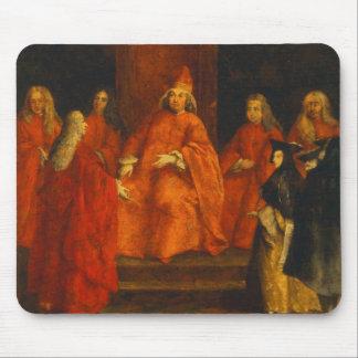 El dux Grimani en su trono Alfombrilla De Ratón