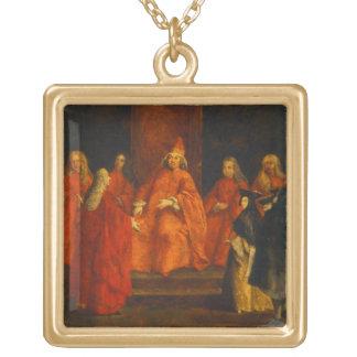El dux Grimani en su trono Joyería