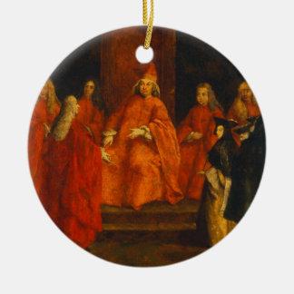 El dux Grimani en su trono Adorno De Reyes