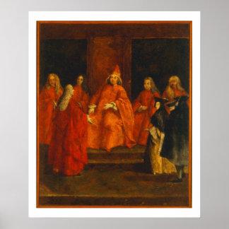 El dux Grimani en su trono Impresiones