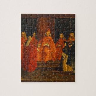 El dux Grimani en su trono Puzzle Con Fotos