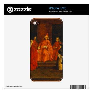 El dux Grimani en su trono Skins Para iPhone 4