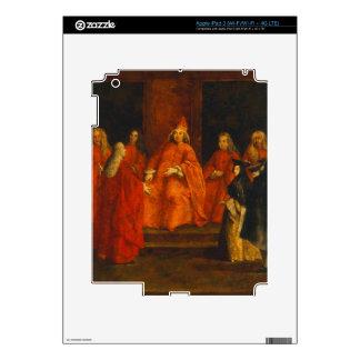 El dux Grimani en su trono iPad 3 Pegatina Skin