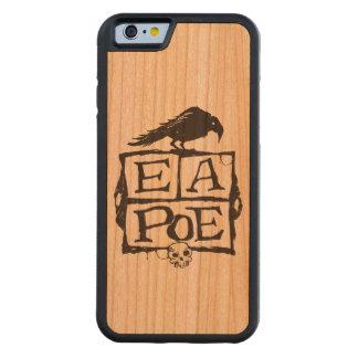 El EA Poe encajona la caja de madera de Smartphone Funda De iPhone 6 Bumper Cerezo