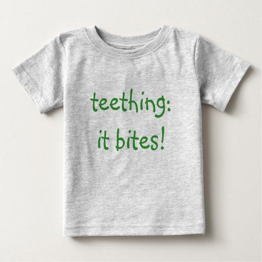 el echar los dientes… playeras