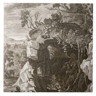 El eco de la ninfa cambiado en el sonido, 1731 (gr teja
