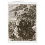 El eco de la ninfa cambiado en el sonido, 1731 (gr tarjeta de felicitación
