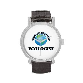 El ecologista más grande del mundo relojes de pulsera