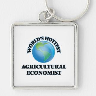 El economista agrícola más caliente del mundo llaveros personalizados