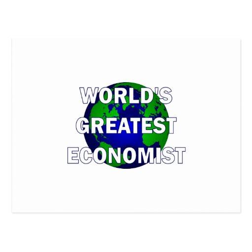 El economista más grande del mundo postales
